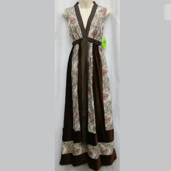 ce537e4c0b Vintage Dresses | 70s Caftan Boho Hippie Festival Dress | Poshmark